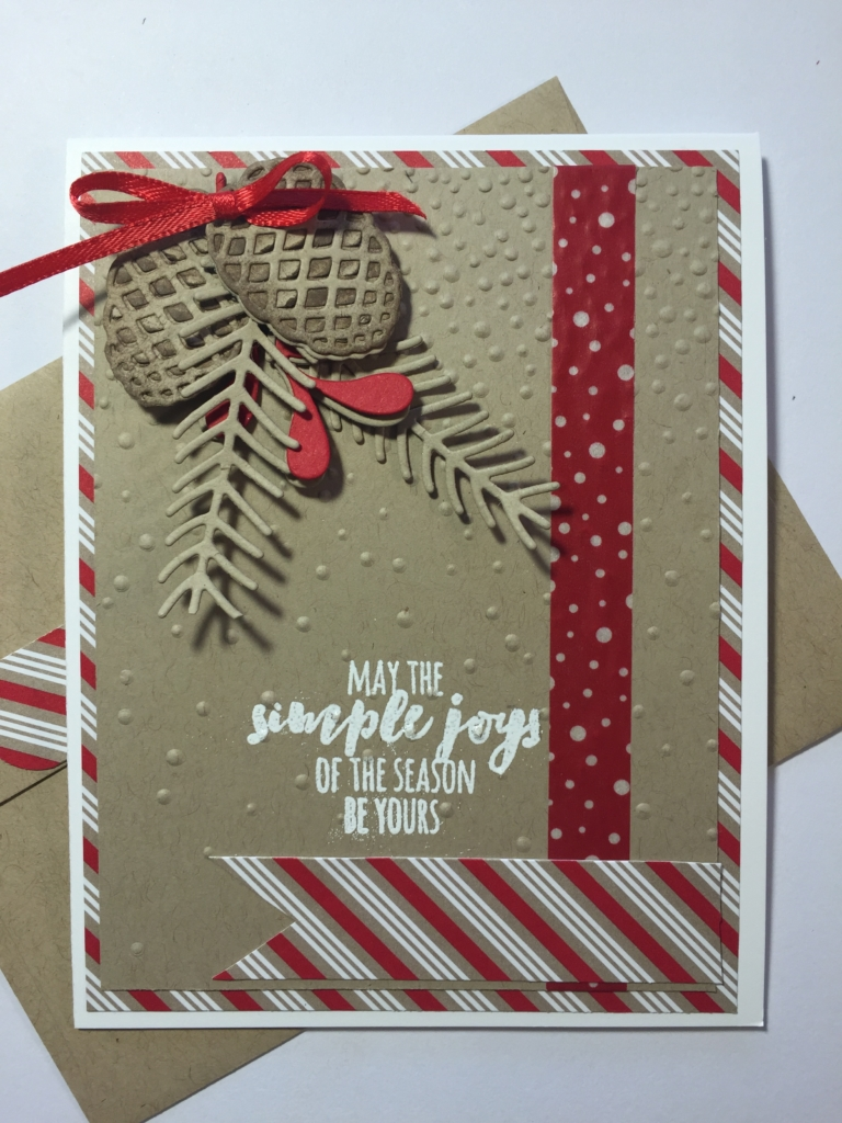 Stampin' Up!, Seasonal, Christmas Pines, Pretty Pines Thinlits