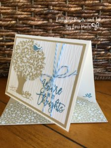 Stampin' Up! Thoughtful Branches, Beautiful Branches, Neutral Colors, You're In My Thoughts