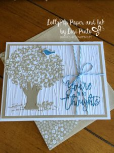 Stampin' Up!, Thoughtful Branches, Beautiful Branches, You're In My Thoughts