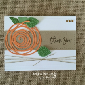 Thoughtful Branches, Beautiful Branches, Fall Thank You Card, Change It Up Card #2