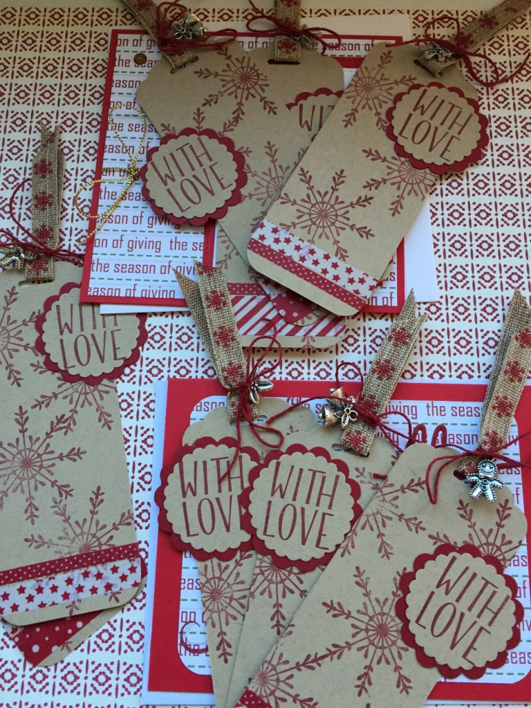 Stampin' Up!, Tin of Tags, Gift Tags