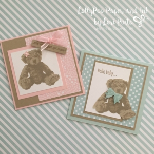 Stampin' Up!, Baby Bear, Made with Love