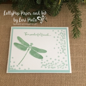 Stampin' Up! Dragonfly Dreams, Friendship