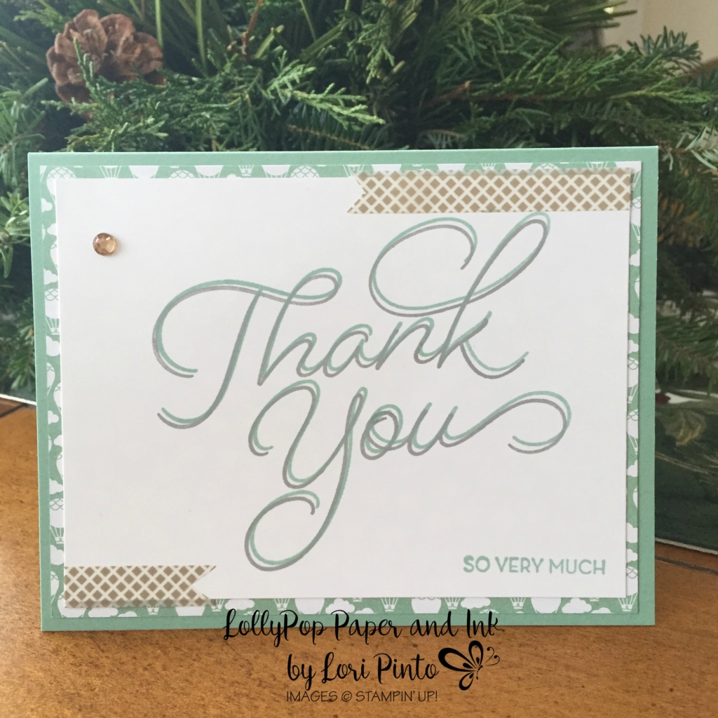 Stampin' Up!, So Very Much, Thank You,