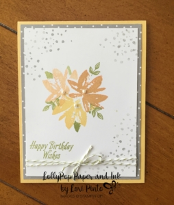 Stampin' Up!, Sale-A-Bration, Avant Garden, Carried Away DSP