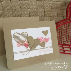 Stampin'Up!, Sale-A-Bration, Sealed with Love, Love Notes Framelits Dies