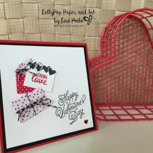 Sealed with Love, Love Notes Framelits, Sending Love Designer Series Paper Stack