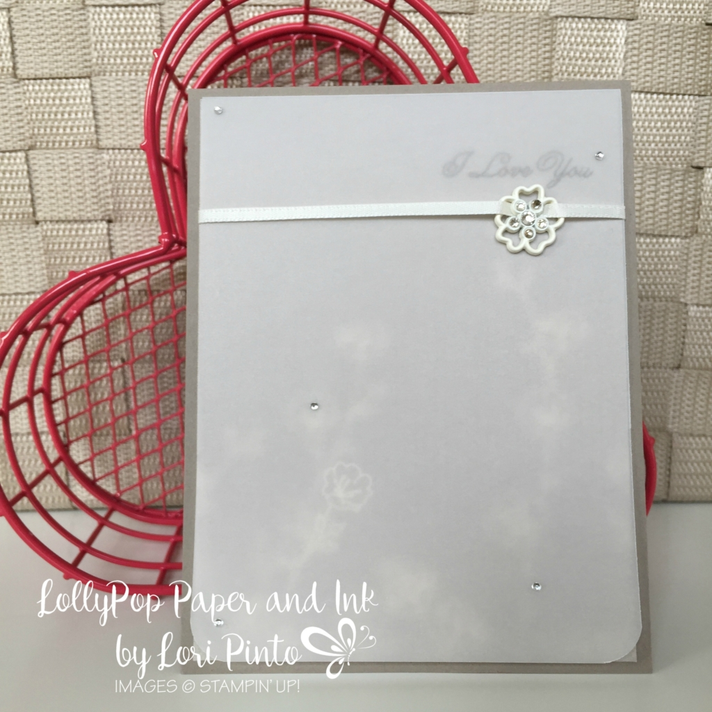 Stampin' Up!, Sealed with Love, Falling in Love