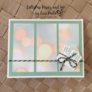 Sealed with Love, Love Notes, Stampin'Up!, Falling in Love