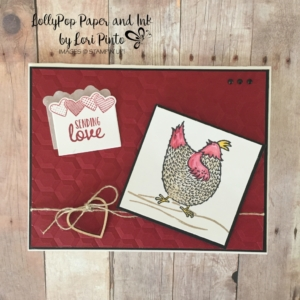 Hey Chick, Sealed with Love, Sending Love Embellishments