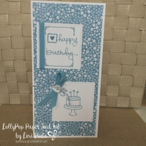 Endless Birthday Wishes, Marina Mist, Stitched Shapes Framelits