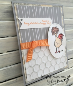 Hey Chick, Stitched Shapes Framelits, Hexagon Folder, Urban Underground Specialty DSP, Paper Pumpkin