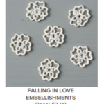 Stampin'Up!, Sealed with Love, Falling in Love DSP, Falling in Love Embellishments