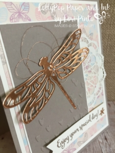 I  am so loving this Copper Foil and Copper Thread! It makes any project extra special!