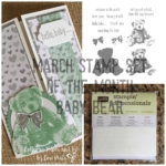Hello Baby Bear – Stamp Set of the Month