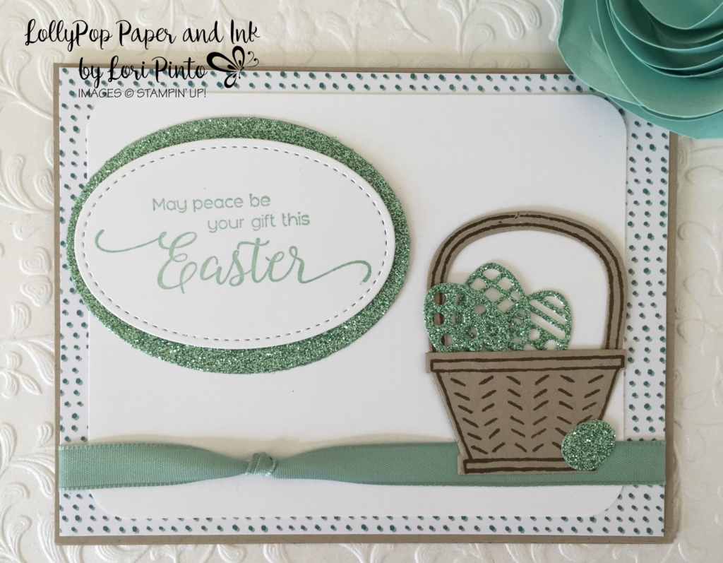 Basket Bunch, Glimmer Paper, Blooms & Bliss DSP, Suite Sentiments, Happy Easter