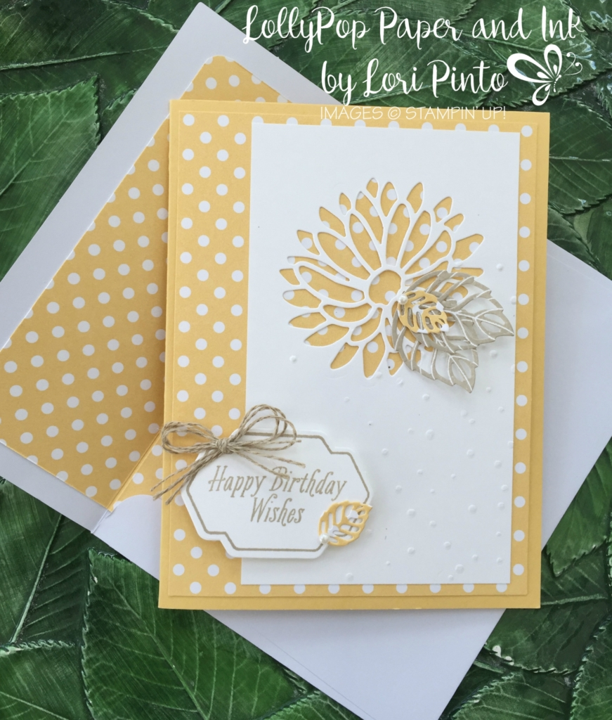 Stampin' Up! Special Reason Bundle Happy Birthday Wishes - Avant Garden