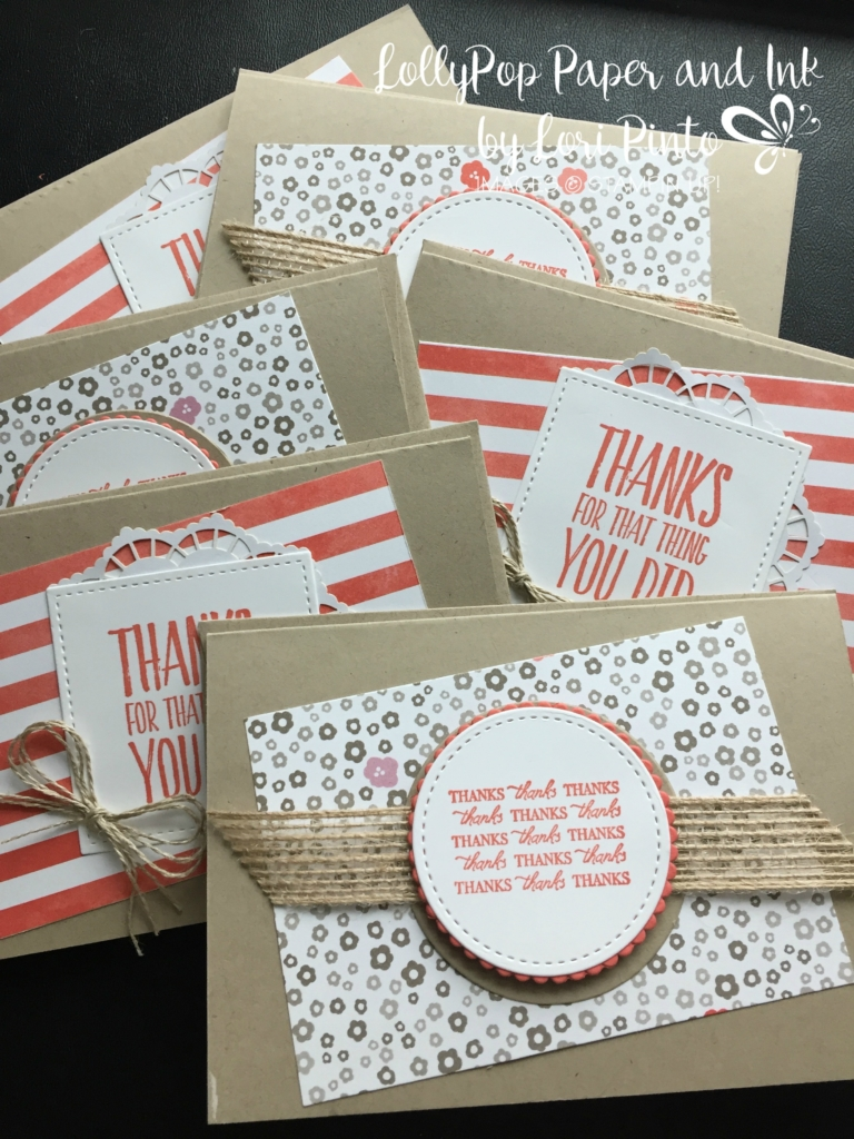 Stampin' Up! All Things Thanks