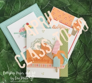 Stampin' Up! April Class to Go