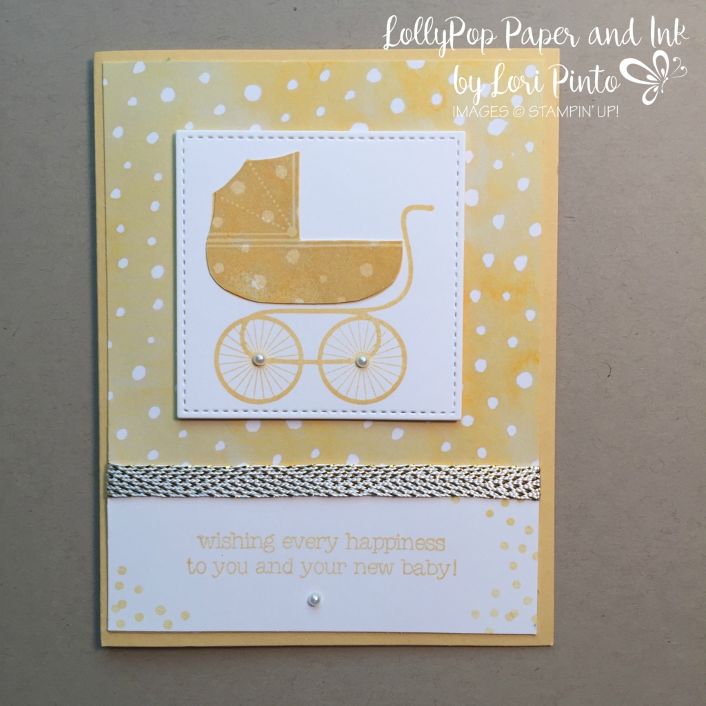Stampin' Up! Something for Baby, Made with Love