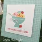 Stampin' Up! Cool Treats stamp set and bundle, Class to Go