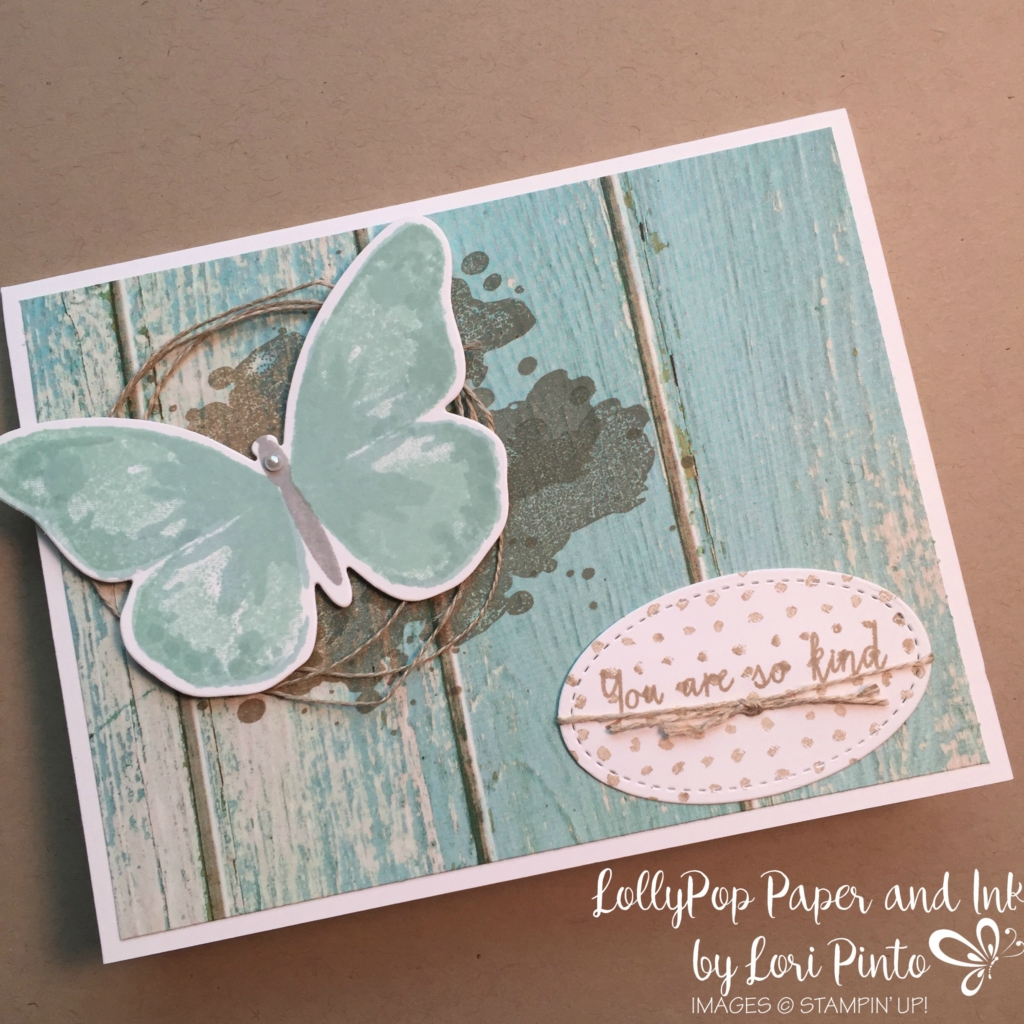 Stampin' Up!, Watercolor Wings, Bold Buterflies Framelit Dies