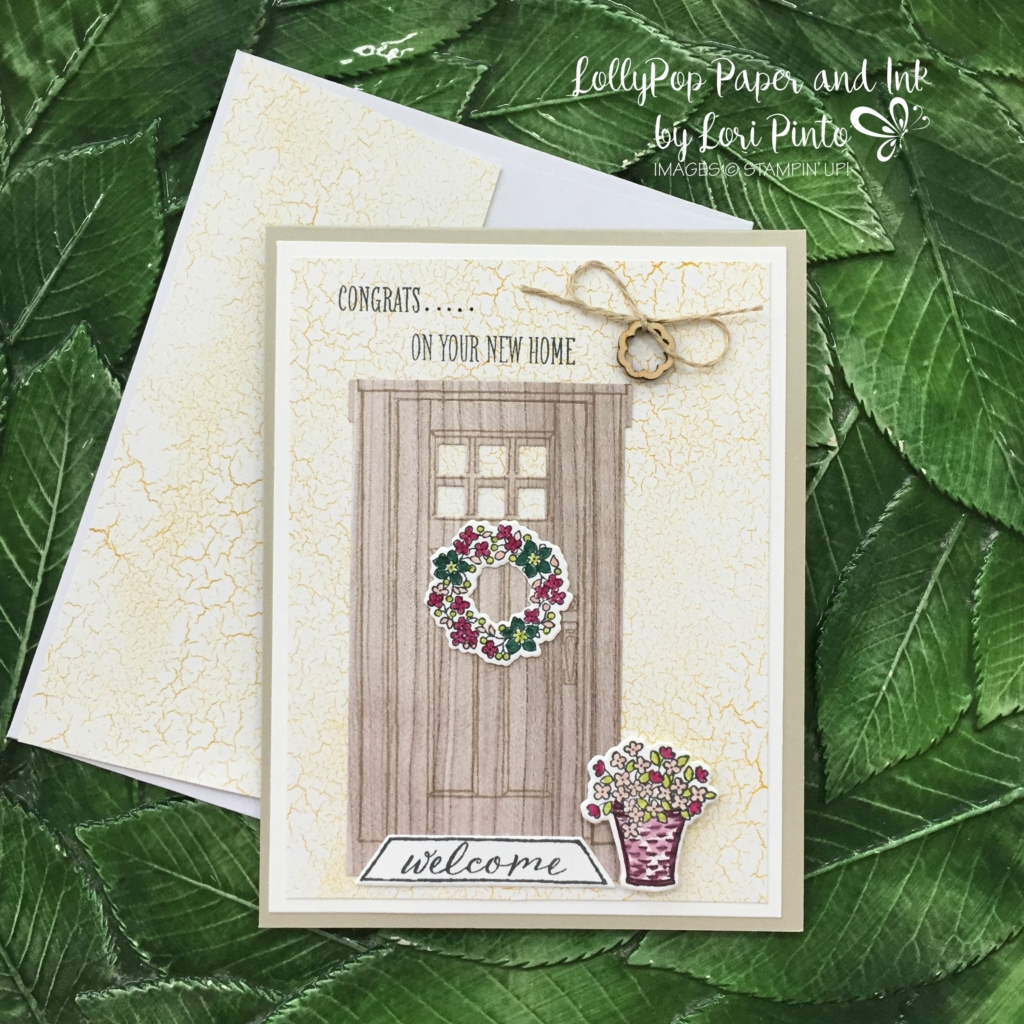 Stampin' Up! At Home With You stamp set and bundle, Congrats, Color Theory DSP Stack