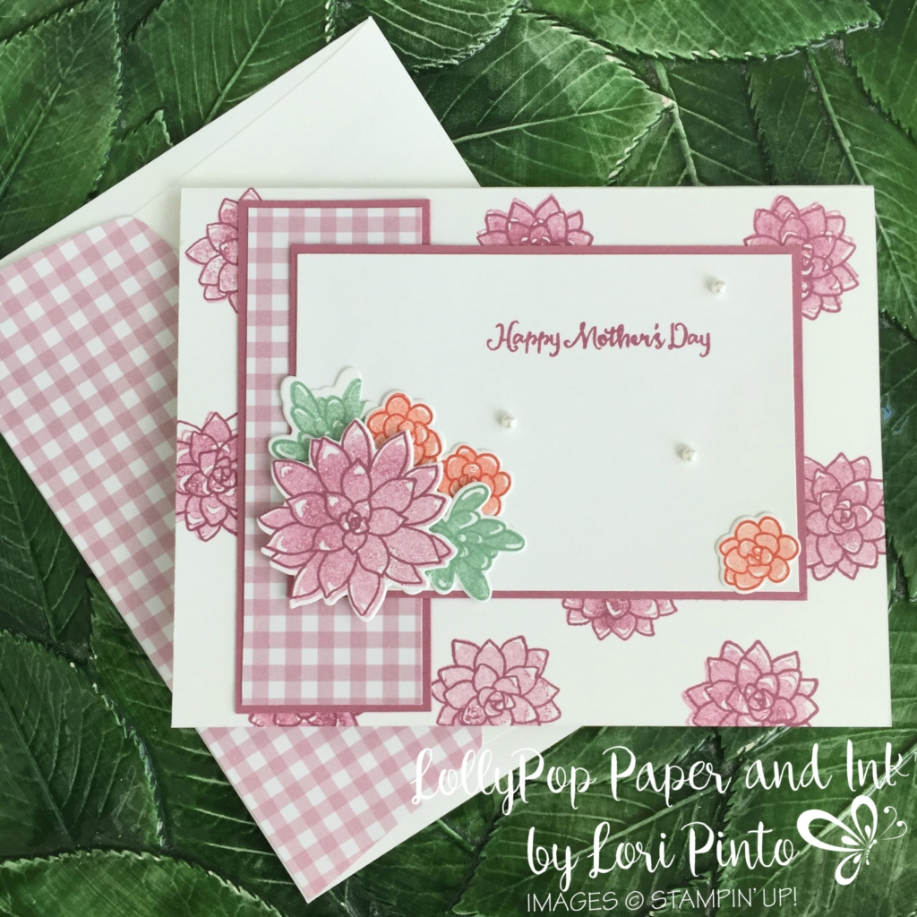 Stampin' Up! Oh So Succulent Bundle, Mother's Day