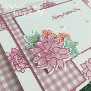 Stampin' Up! Oh So Succulent Stamp Set and Bundle, Happy Mother's Day