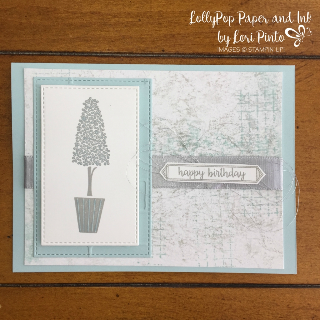 Stampin' Up! Vertical Greetings, Happy Birthday Gorgeous