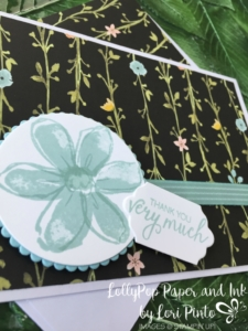 Stampin'Up!, Whole Lot of Lovely DSP, Garden in Bloom stamp set, Bunch of Blossoms stamp set