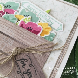 Stampin' Up! Wood Words Bundle, Jar of Love Bundle, Happy Birthday Gorgeous