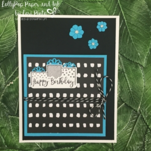 Stampin' Up!, Celebration Time Stamp Set and Bundle, Pick A Pattern DSP