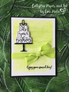 Stampin' Up!, Celebration Time Bundle, Lemon Lime Twist, Dragonfly Dreams, Happy Birthday