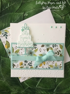 Stampin' Up!, Celebration Time, Celebration Thinlits Dies, Softly Falling Textured Embossing Folder, Whole Lot of Lovely DSP
