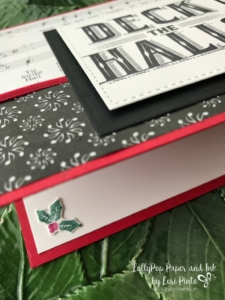 Stampinup!, Carols of Christmas, Deck The Halls, Merry Music Specialty DSP by Lori Pinto 4