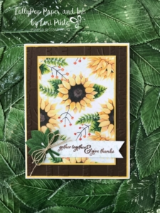 Stampinup!, Painted Harvest stamp set, Painted Autumn DSP, Gather Together, Leaf Punch, by Lori Pinto 1
