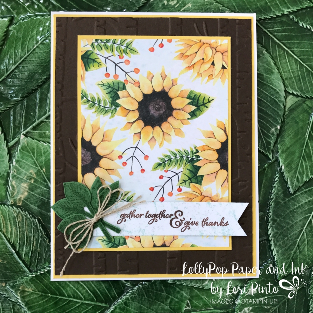 Stampinup!, Painted Harvest stamp set, Painted Autumn DSP, Gather Together, Leaf Punch, by Lori Pinto 2