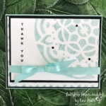 Saying Thank You With Soft Colored Embossing Paste