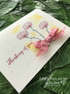 Stampin' Up!, Daisy Delight Stamp Set, Colorful Seasons Stamp Set, Whisper White Note Cards, Masking Technique