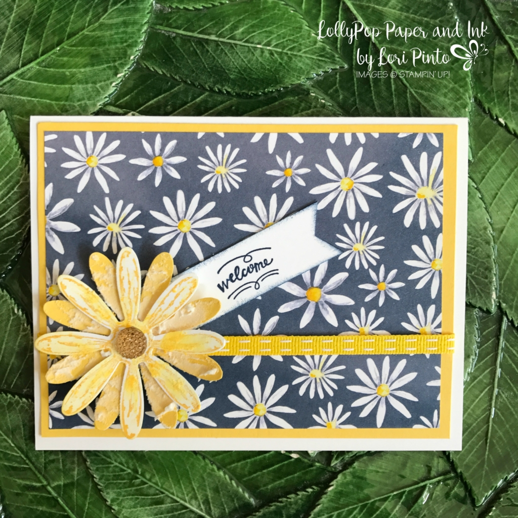Stampinup!, Daisy Delight Bundle, Wood Words, Embossing Paste by Lori Pinto