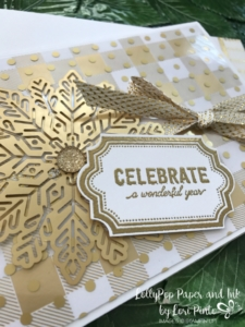 Stampinup!, Labels to Love stamp set, Everyday Label Punch, Year of Cheer Specialty DSP, Foil Snowflakes by Lori Pinto, #tttc014, 2