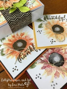 Stampinup!, Painted Harvest, Mini Pizza Boxes, Painted Autumn DSP by Lori Pinto 1