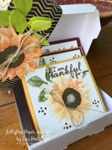 Stampinup!, Painted Harvest, Mini Pizza Boxes, Painted Autumn DSP by Lori Pinto 2