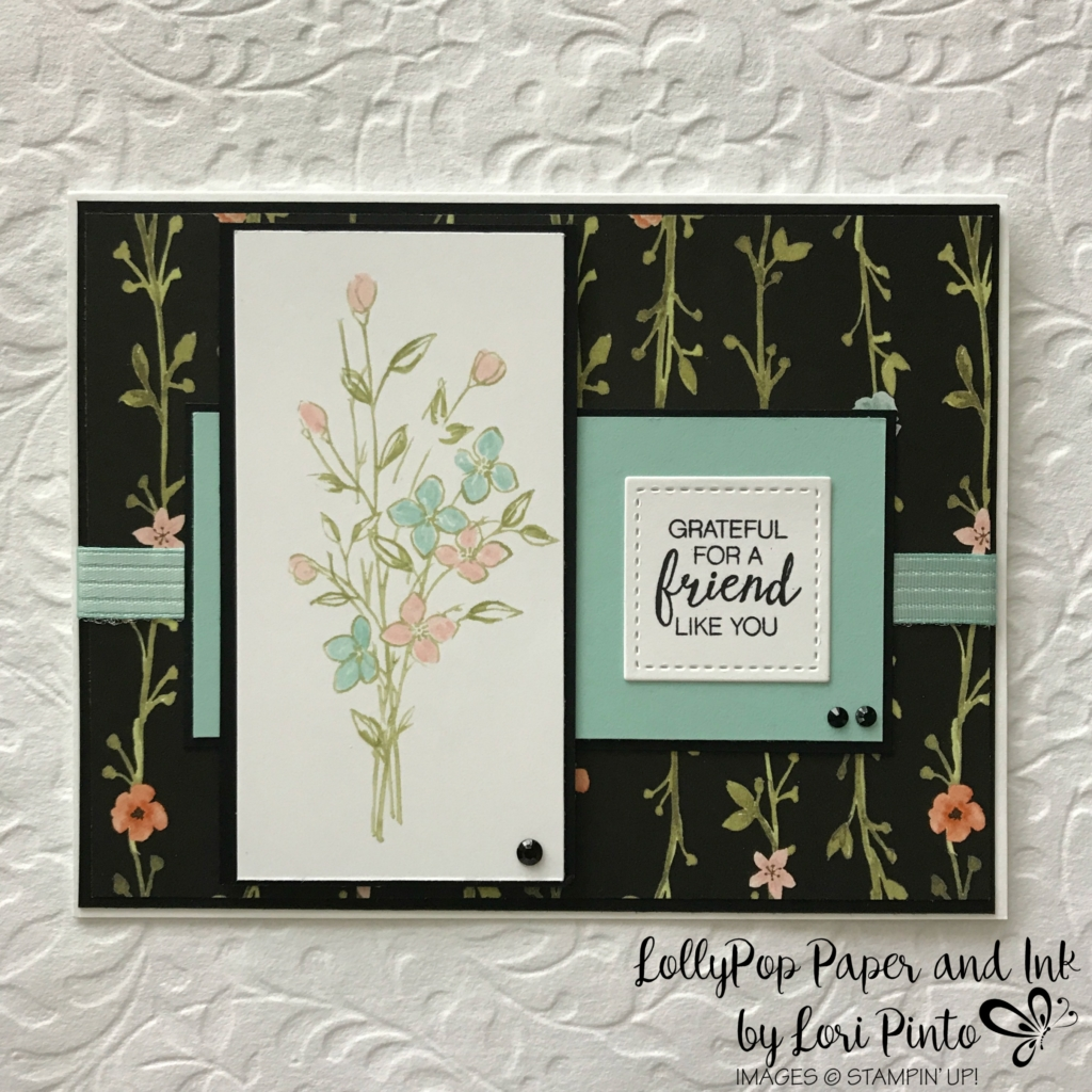Stampinup!, Whole Lot of Lovely DSP, #tttc013, Touches of Texture stamp set by Lori Pinto 1