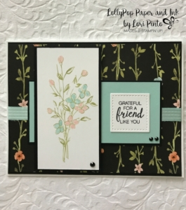 Stampinup!, Whole Lot of Lovely DSP, #tttc013, Touches of Texture stamp set by Lori Pinto