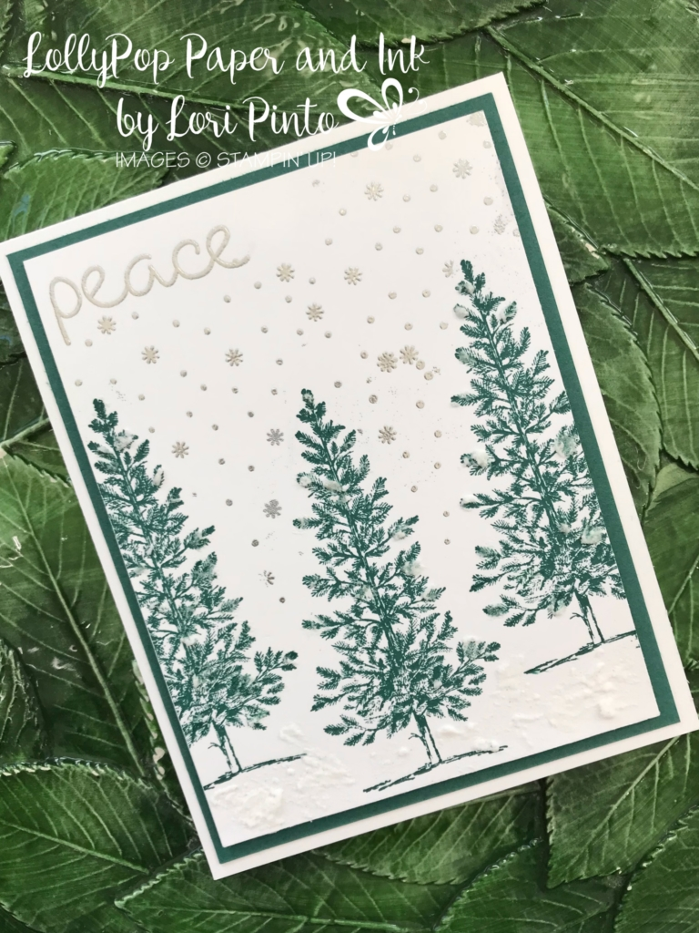 Stampin'Up!, Stampinup!, Lovely As A Tree stamp set, Christmas Quilt stamp set, Tranquil Tide by Lori Pinto