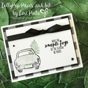 Stampin' Up!, Stampinup!, Wonderful Life and Simple Joys by Lori Pinto #tttc025