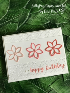 Stampin'Up!, Stampinup!, Quilt Builder Framelits Dies, Quilt Top Textured Impressions Embossing Folder, Milestone Moments Stamp Set Happy Birthday Card by Lori Pinto
