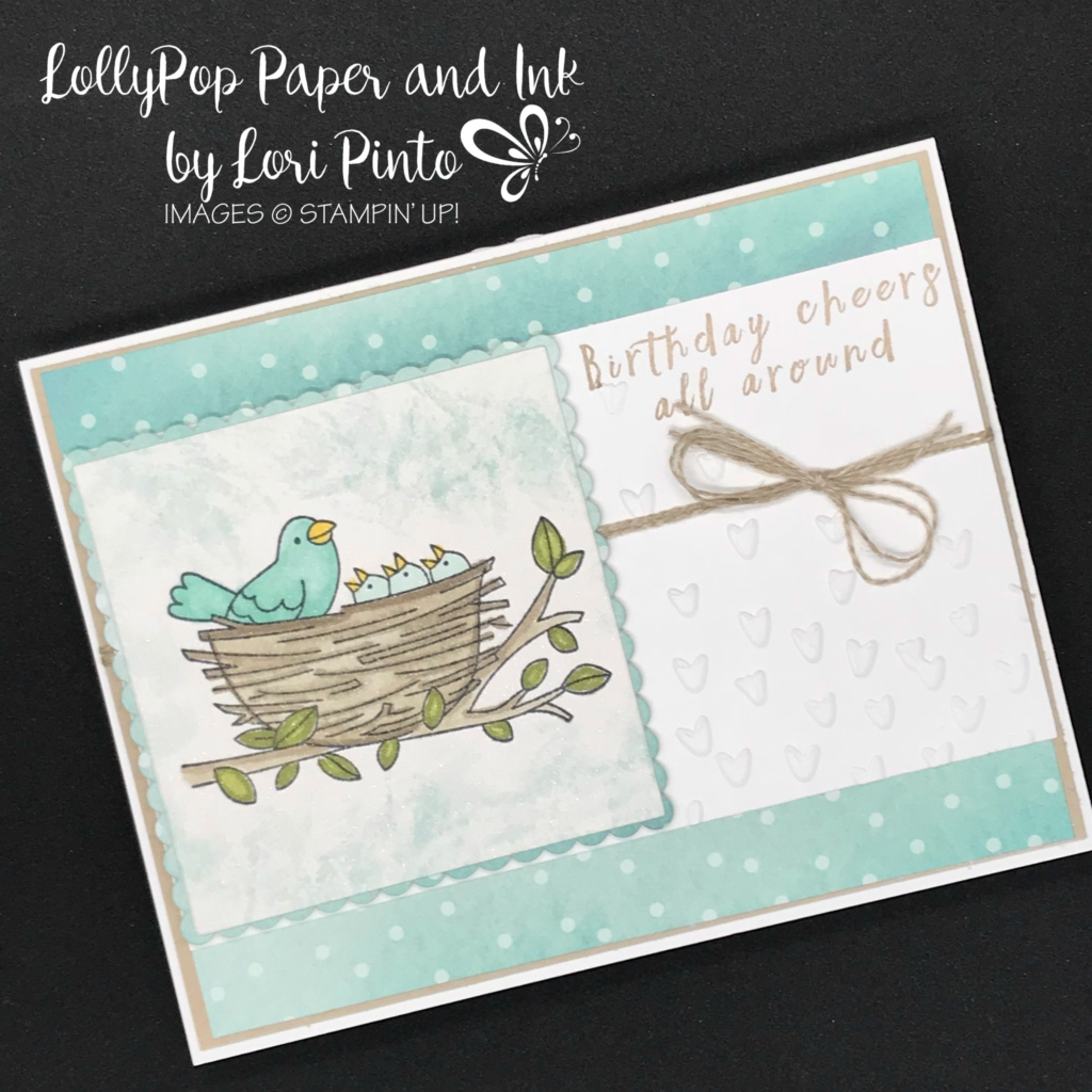 Stampin'Up! Stampinup! Fly8ing Home Stamp Set and Perennial Birthday Birthday Cheers by Lori Pinto1